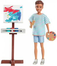 Barbie Team Stacie Friend of Stacie Doll Art Class Playset with Accessories Kid