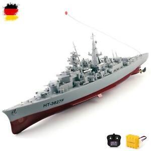 RC Boot, Schiff Kriegsschiff Schlachtschiff-Modell Bismarck Modellbau, Fregatte