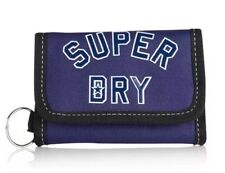 Superdry wallet Biofold Coins Notes 5 Card Slot Keyring Security School Uni New