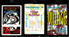 Lollapalooza '93 (3) Laminate Lot (Tool Primus Alice In Chains RATM) *RARE* 1993
