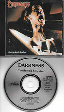 """DARKNESS original CD """"Conclusion and revival"""" 1989 on Hot Blood"""