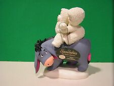 Dept 56 SNOWBABIES Disney RIDING WITH FRIENDS NEW in BOX EEYORE Winnie the Pooh