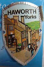 England Haworth Yorkshire new badge mount stocknagel hiking medallion G9790