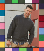 Jerzees Mens Plain Solid NuBlend Crewneck Sweatshirt S-3XL 562MR