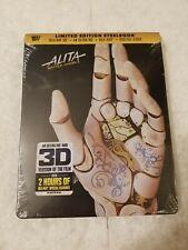 ALITA Battle Angel STEELBOOK 4K UHD Blu Ray US Best Buy SOLD OUT SEALED