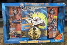 WWF Wrestling Superstars Huge Playsets Rock Austin Ring Belt Figures WWE Jakks