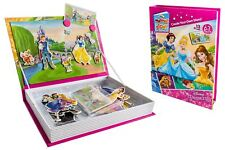 Disney Princess Interactive Magnet Story Cards Imagination Playset w Carry Case