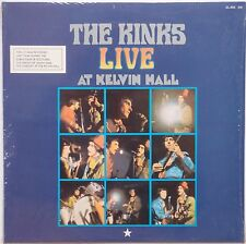 KINKS: Live at Kelvin Hall ZEFIRO / PYE spain SEALED IMPORT vinyl LP rare