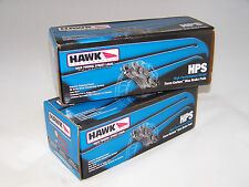 Hawk HPS Brake Pads Front And Rear For BMW 330CI, 330I, 330XI, M3, X3, Z4