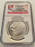2015 Grizzly Bear-The Catch Proof $20 Silver Coin 1oz NGC PF69 Ultra Cameo