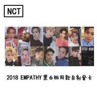 Kpop NCT U 127 Empathy Paper Cards Self Made Autograph Photocard Poster 5PCS/Set