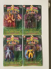Mighty Morphin Power Rangers Evil Space Aliens 4 Figure Lot New 1994 SEALED!