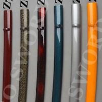 High Quality Japanese Samurai Sword Sheath Katana Scabbard Curve Blade saya