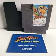 NINTENDO NES DISNEY'S DUCK TALES WITH BOOKLET / MANUAL PAL B