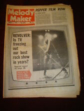 MELODY MAKER 1978 AUG 5 SGT PEPPER REVOLVER THIN LIZZY SEX PISTOLS WHO ROD