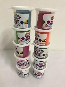 Colorations Classic Dough 5 oz tubs Set of 10 Bright Colors Non-Toxic
