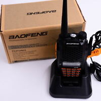 Baofeng UV-6R VHF/UHF 136-174/400-520MHz Ham Transceiver Dual-Dand Two-way Radio