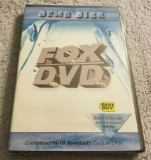 Demo Disc / FOX DVD - DVD Movie - Ice Age - Planet of the Apes - Trailers - NEW