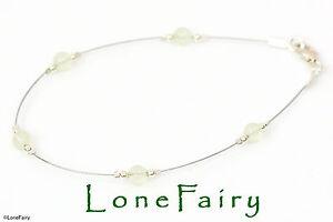 Hallmarked 925 Sterling Silver Gemstone Bead Bracelet - 21 Stones - Choose Size