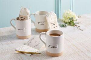 Mud Pie E1 We Are Family 16oz Mom Mug & Journal Set 10350007 Choose Design