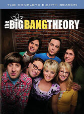 The Big Bang Theory: The Complete Eighth Season(DVD, 2015)Brand New Free Shippin