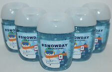 5 BATH & BODY WORKS #SNOWDAY ICE BLIZZARD POCKETBAC ANTI BAC HAND GEL SANITIZER