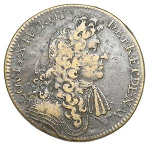 "FRANCE. Louis XIV ""The Sun King"". 1643-1715, Jeton, Dated 1679"