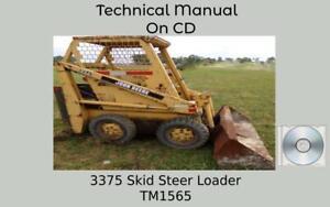 John Deere 3375 Skid Steer Loader Technical Manual  TM1565
