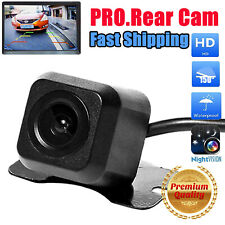 Car Backup Rear View Reverse Parking HD Camera Night Vision IR Cam Waterproof US