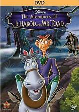The Adventures of Ichabod and Mr. Toad (DVD, 2014) NEW