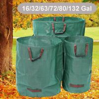 Reusable Waterproof Portable Duty Garden Waste Bag Refuse Sack Leaves Grass