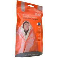 SOL - Survive Outdoors Longer Heatsheets Emergency Survival Blanket for 1 Person