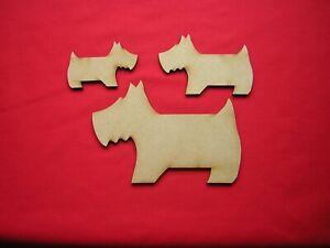 MDF WESTIE / SCOTTIE DOG (3 sizes ) LASER CUT WOODEN CRAFT SHAPE