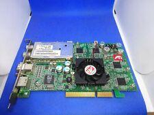 ATI ALL-IN-WONDER 9600  128MB AGP GRAFIKKARTE AV-OUT TV FM #GK1807