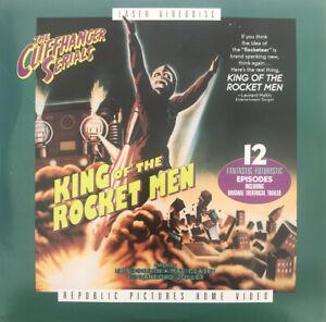 King Of The Rocket Men Laserdisc Laser Videodisc
