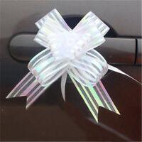 Procédé DIY Emballage de cadeaux Ruban transparent Nœud papillon étirage