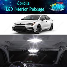 White Interior Led Lights Package Kit For 2003 2020 2021 2022 Toyota Corolla