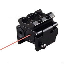 Shock proof Red Dot Laser Sight Scope 20mm Dual Weaver/Picatinny Rail Mount
