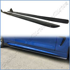 Carbon Fiber Side Skirts Extend Lip For BMW 2014 On F32 F33 2DR M Sport Package