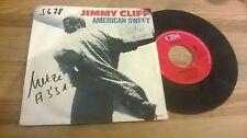 "7"" reggae Jimmy Cliff-AMERICAN SWEET/reggae movement CBS Rec"