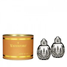 Waterford Crystal Giftology : Lismore Round Salt & Pepper, Set