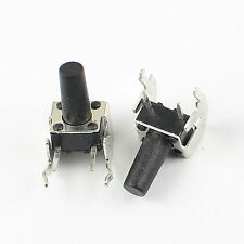 100Pcs Momentary Tactile Tact Push Button Switch 6x6x11mm Right Angle 2 Pin