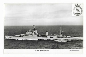 SHIPS: H.M.S Newfoundland (RP) Crown-Gale & Polden /F-074
