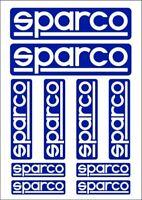 BRAND NEW Original Italian Sparco Motorsport sticker set - BESTSELLER!