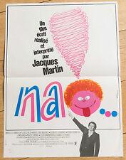 Affiche de cinéma : NA ! de JACQUES MARTIN