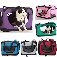 "faltbare Hunde & Katzen Transportbox ""Filou"",Box Hundekorb Autobox Korb Tasche"