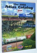 The 1998 Atlas Catalog Model Railroading HO & N-Scale Bridges Tracks & More