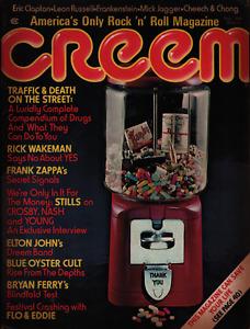 Creem Music September 1974 Mick Jagger Elton John Cheech & Chong 031821ame2