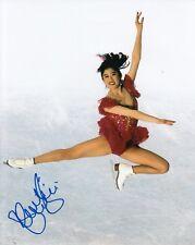KRISTI YAMAGUCHI signed (USA OLYMPIC FIGURE SKATING) 8X10 *OLYMPICS* W/COA #2