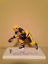Mcfarlane Nhl Legends 3 Marcel Dionne Kings Autographed Signed figure Rare